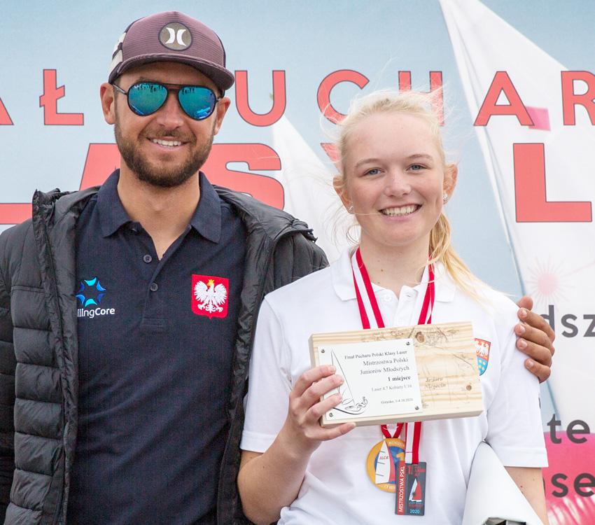Zagle Kielce: Natalia Nadrzewia wygrała Ogólnopolską Olimpiadę Młodzieży, Giżycko 2020
